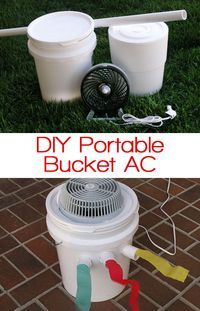 Perfect if you don't have an ac unit in your house or apartment. This actually works really well and is so cheap! This might work well in the boler while camping.