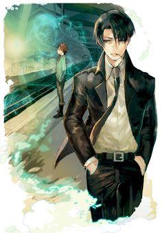 Rivaille (Levi) and Eren Jaeger | Shingeki no Kyojin #anime