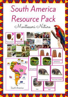 South America Resource - Montessori Nature