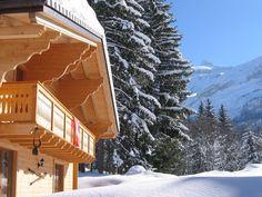 Face aux glaciers, prenez de la hauteur #chalet #suisse #vaud #montagne #ski #vacances