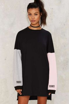 The Ragged Priest Trust Issues Embroidered Shirt   Shop Clothes at Nasty Gal!