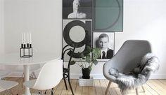 Billedresultat for familie billedvæg Nordic Interior Design, Interior Decorating, Living Room Inspiration, Interior Inspiration, Kitchen Interior, Interior And Exterior, Scandinavian Home, Living Room Designs, Room Decor