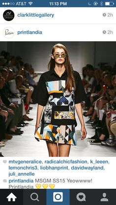 Love! #mixedprints #design #fashion