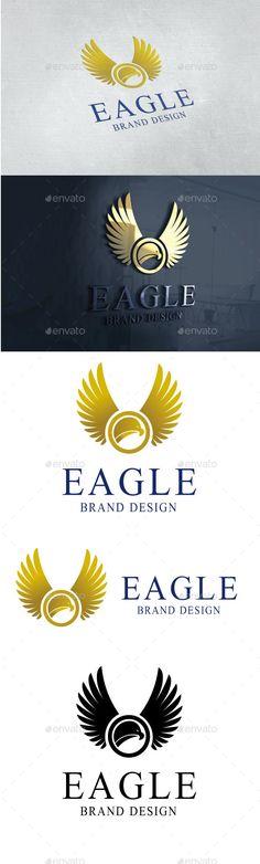 Eagle Logo — Vector EPS #company #bird • Available here → graphicriver.net/...