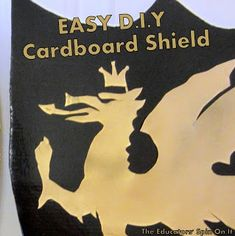 Pretend play comes natural in our house. My three kids are always re-using boxes and bottles for new stories. The idea of making a cardboard sheild for their pretend play came at the request of a 4 year old knight who wanted to make a shiny dragon shield. We used left over paint, cardboard from …