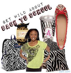 Back to School, created by ashleyhood on Polyvore