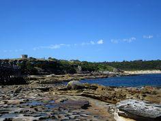 Rocks and seas at La Perouse