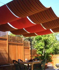 c6d5f9e724e27204e26dc3fe4466d37d diy retractable awning patio canopy love the idea of using a retractable awning in a different way  at fashall.co