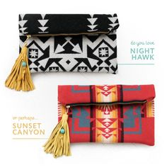 win one of these S E A E C H O clutches over at the Summerland Giveaway