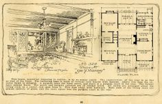 daily bungalow  1908 ye planry house plans