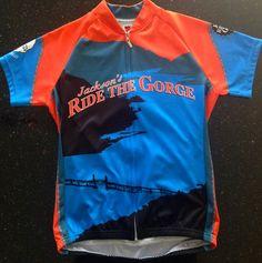 Jackson's Ride the Gorge bike jersey Wellness Center, Nike Jacket, Cycling, Jackson, Foundation, Bike, Athletic, Fashion, Bicycle