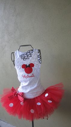 Running Tutu: Disney Princess Half Inspired Custom Racing Tank and Pixie Length (9 inch) Tutu. $60.00, via Etsy.
