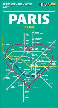Mapa do turismo Paris