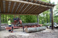 Wood-Mizer - Personal Best Lumber Mill, Wood Mill, Barns Sheds, Pole Barns, Bandsaw Mill, Future Farms, Firewood Storage, Wood Shed, Cabin Homes