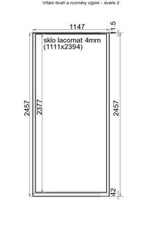 Dveře pro vestavěné skříně - Zakázková výroba nábytkových komponent   Salu