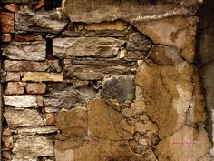 Ancient brick wall |