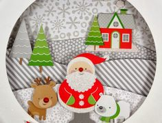 Shadow Boxes: Home for the Holidays