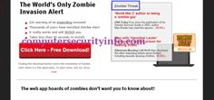 Zombie Alert, computer security info, internet security, computer security, cyber security, computersecurityinfo.com