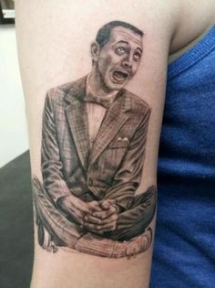 Holy crap, another great Pee Wee tattoo!