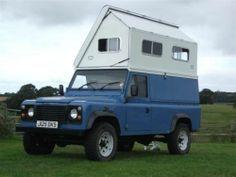 Image result for land rover pickup camper top
