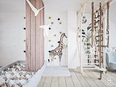 kids attic playroom/ bawialnia na poddaszu Divider, Anna, Room, Furniture, Home Decor, Bedroom, Decoration Home, Room Decor, Rooms