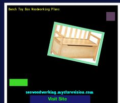 Bench Toy Box Woodworking Plans 151501 - Woodworking Plans and Projects!