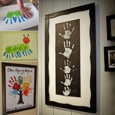 5 Cool and Creative Handprint Art Projects for You to Try  - http://www.amazinginteriordesign.com/5-cool-creative-handprint-art-projects-try/