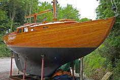 "sailstead: Sweet! "" Will O The Wisp "" … A John Alden designed 'Malabar Sr', 34 foot Sloop and built in 1960 [UK]"