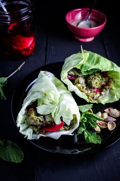 Baked Herb and Pistachio Falafel