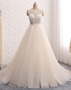 Prom Dress Princess, Custom made round neck lace tulle long prom gown, wedding dress Shop ball gown prom dresses and gowns and become a princess on prom night. prom ball gowns in every size, from juniors to plus size. Pageant Dresses For Teens, Evening Dresses For Weddings, Long Prom Gowns, Long Wedding Dresses, Bridal Dresses, Prom Dresses, Gown Wedding, Dresses Uk, Dress Long