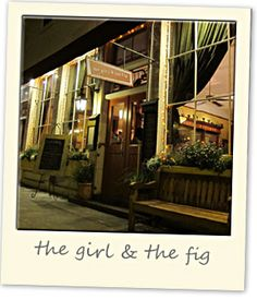 The Girl and the Fig in Sonoma Delicious Napa Sonoma, Sonoma Valley, Sonoma County, Napa Valley, Best Places To Eat, Great Places, Sonoma Restaurants, San Francisco Sights, Fig Restaurant