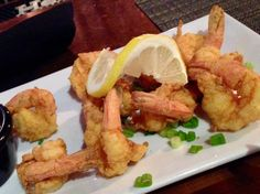Crunchy light n sumptuous fried shrimp at Seaport Grill In Fairhaven