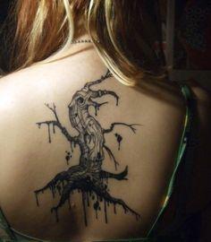Sleepy Hollow Tree Tattoo sleepy hollow tree and other creepy trees on ...