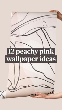 Wall Design, House Design, Pink Home Decor, Pink Wallpaper, Make It Work, Luxury Interior Design, Cozy House, Home Renovation, Pink Color