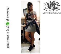 Vestido Tubinho de Viscolycra detalhe no peito PMGGG R$ 5000 (Reserve via whatsapp (11)96667-6394)
