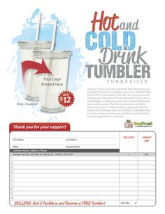 Tumbler Fundraiser - Easy Dough Fundraising