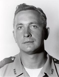 Trooper Herbert C. Bush, age 28, was fatally injured Oct. 11, 1958, when an automobile struck his patrol car while he was in pursuit of a speeding vehicle. He was assigned to Post 7 Richmond and had served with the Kentucky State Police for one year and four months. Trooper Bush was survived by his wife. He is buried at Evergreen Cemetery in Newport, Ky. Designation of a memorial roadway in honor of the service and sacrifice of Trooper Bush is pending. Kentucky State Police, In Pursuit, Oct 11, All Hero, Law Enforcement, Police Officer, Newport, Cemetery, Evergreen