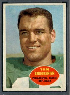 1960 Topps Tom Brookshier #rookie Philadelphia Eagles