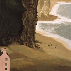 """Pink House, West Bay"" by David Inshaw, 2007"
