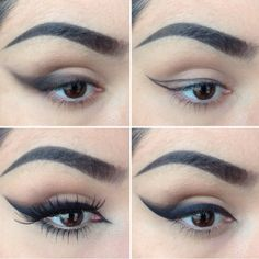 Eyeliner is one of the most important cosmetics and can give you a dramatic look without much time...