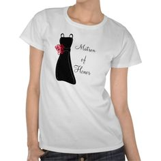 Shop Matron of Honor T-Shirt created by OccasionsByMadeleine. Matron Of Honour, Stylish, Mens Tops, T Shirt, Gifts, Shopping, Dresses, Fashion, Supreme T Shirt