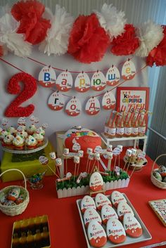 Kinder surprise party