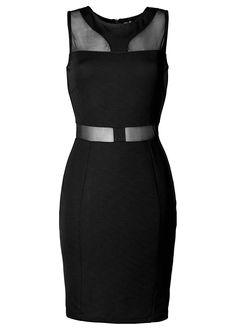 Jurk zwart - BODYFLIRT boutique nu in de onlineshop van bonprix.nl vanaf ? 34.99 bestellen. Jurk met WOW-effect! Aansluitend model met decoratieve cut-outs ...