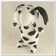 Handmade+Sock+Dog+Stuffed+Animal+Dollb