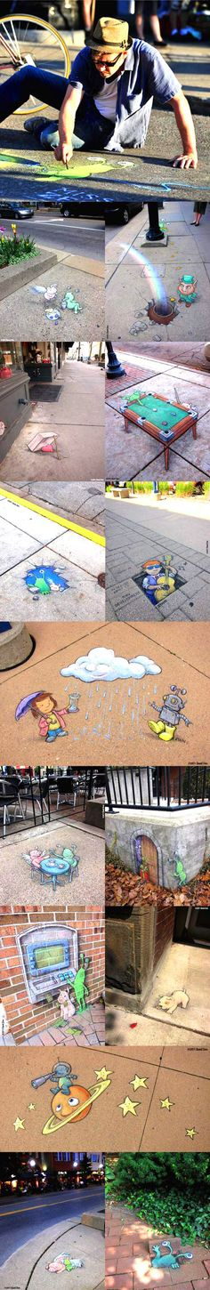 Taking chalk to the next level...