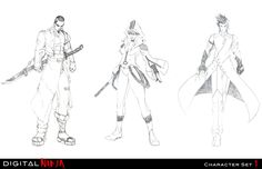 ninja characters - Google Search