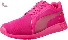 Puma St Trainer Evo - Chaussures d'Entrainement - Mixte Adulte - Rose (Pink/Purple 10) - 37 EU (4 UK) - Chaussures puma (*Partner-Link)