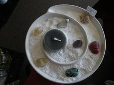 Crystal meditation plates. Spirituality In You 1790 Dundas St. E London On 519-457-4800 spiritualityinyou@hotmail.com