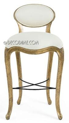 belle epoque french art nouveau style barstools