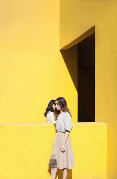 Architecture Meets Perfect Colour Palettes in June Kim & Michelle Cho's Captivating Images